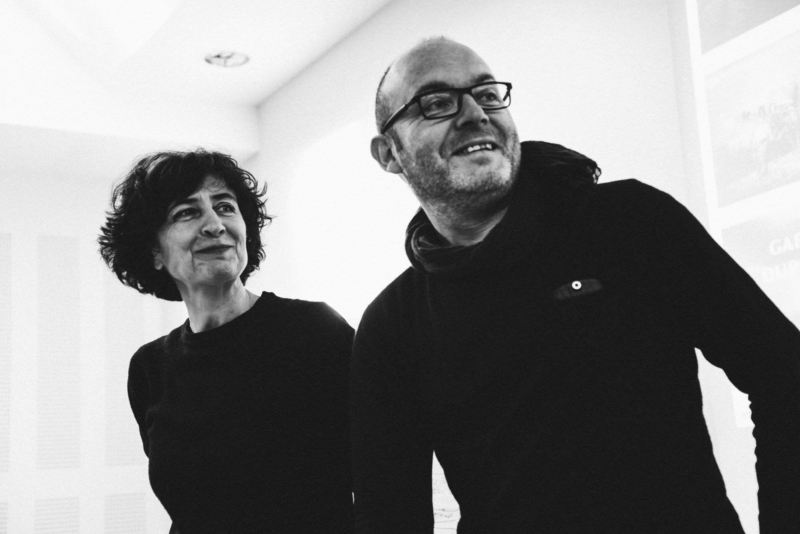 Philippe Guionie Photogtaphe et Marine Oger stagiaire