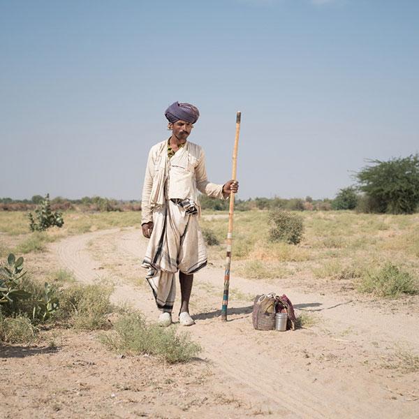 Indien sur un chemin pour le festival photographique Influences