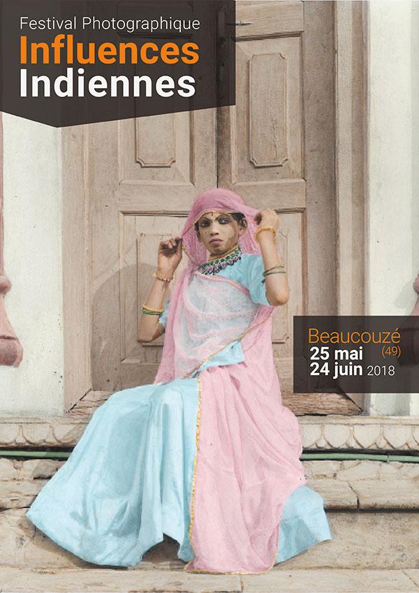 Affiche festival influences indiennes Beaucouzé 2018
