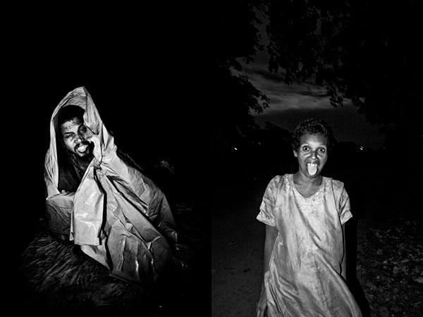 Photographie Soham-Gupta Diptyques de portraits en Inde de pauvres dans la rue