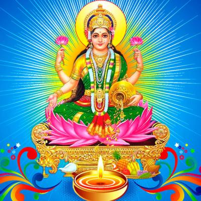 illustration du logo de l'association Lakshmi de danse Indienne à Angers